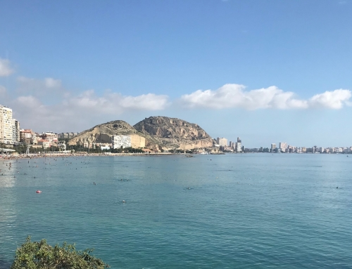 Aguas azules de Alicante